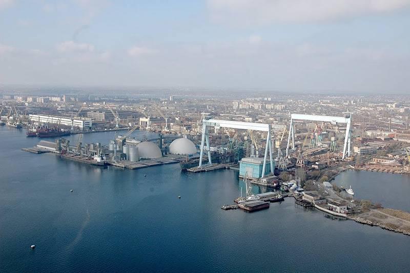 Chernomorsky Shipyard: die Gegenwart