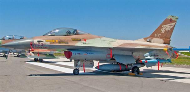 Командование ВВС Израиля рассказало, почему был сбит F-16