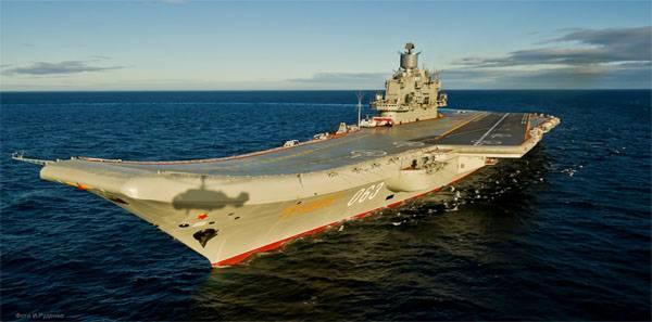 Für die russische Marine wird der neueste Flugzeugträger gebaut