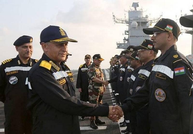 India organiza maniobras navales Milan-2018 con los países 17