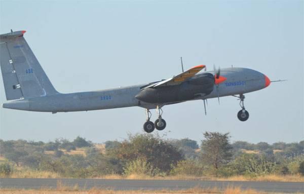 В Индии испытан беспилотник Rustom-2