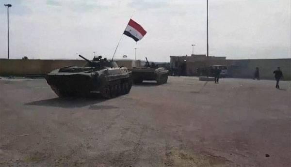 कुर्द: सीरिया की सरकारी सेना ने मनबिज में प्रवेश किया