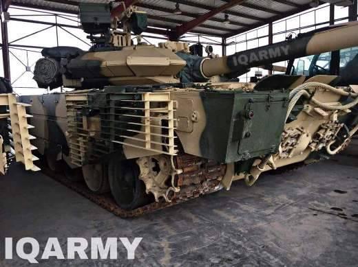 Полученные Ираком Т-90СИ вызвали зависть у российских танкистов
