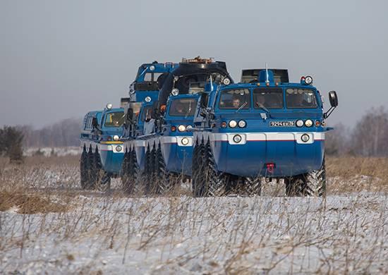 Die Luftfahrt- und Suchausrüstung des Central Military District wird die Landung des Sojus-Raumschiffs MS-06 ermöglichen