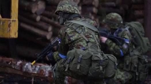 エストニアの兵士は、ロシアの殺人者の栄光について歌「森の兄弟」を歌うことを拒否しました