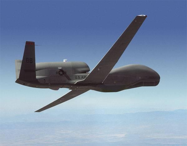 БПЛА США Global Hawk снова провёл разведку у берегов Крыма и Краснодарского края