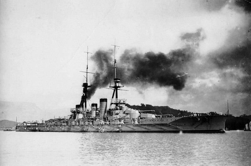 Près de l'île de Guadalcanal a trouvé l'épave du cuirassé japonais de la Seconde Guerre mondiale