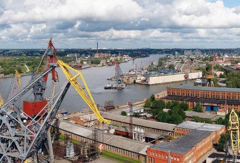 Yantar Shipyard plant die Inbetriebnahme von vier Schiffen in 2018