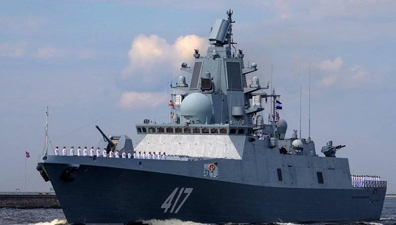 Первыми российские газотурбинные двигатели получат фрегаты проекта 22350
