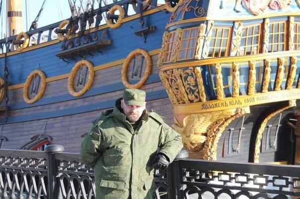 Ополченец Юрий Горошко (Тавр) озвучивает подробности убийства Алексея Мозгового