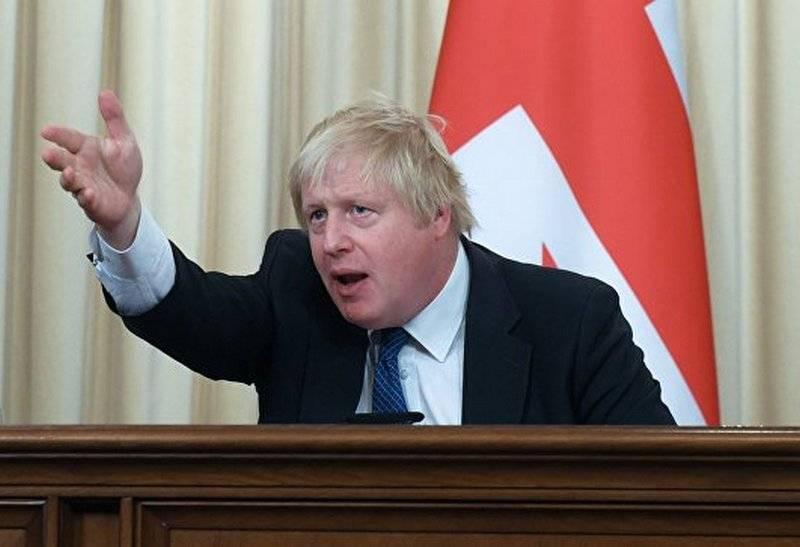 Johnson: Großbritannien wird Syrien angreifen, falls es in Himatak die Schuld von Damaskus beweisen sollte