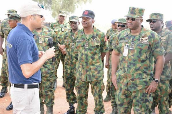 इजरायल के प्रशिक्षक नाइजीरियाई विशेष बलों को प्रशिक्षित करते हैं