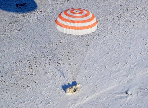 """Crew """"Union MC-06"""" kehrte zur Erde zurück"""