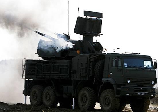 """На """"Ашулуке"""" проведены начальные боевые стрельбы с применением ЗРПК """"Панцирь-С"""""""