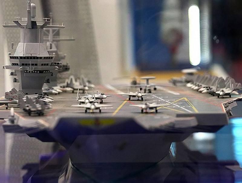 UAC está pronto para desenvolver um novo caça baseado em porta-aviões para um porta-aviões promissor