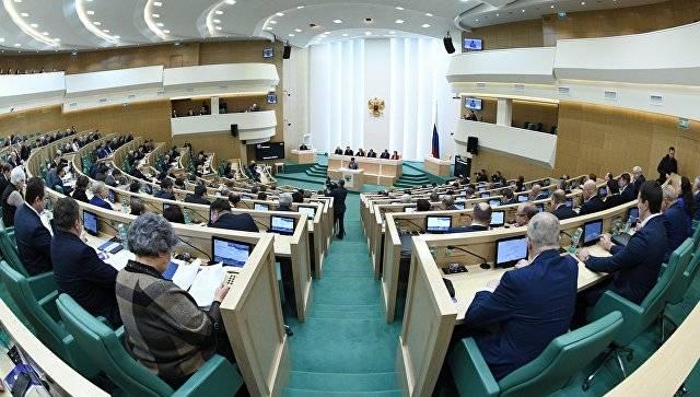 Совет Федерации примет заявление о нарушении Киевом минских соглашений