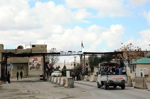Doğu Gute'deki ikinci gumpausa, militanlardan bombalanan bir harçla başladı