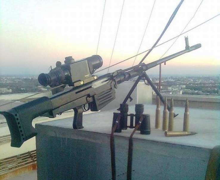 Российская ОСВ-96 стала любимым оружием сирийских спецназовцев