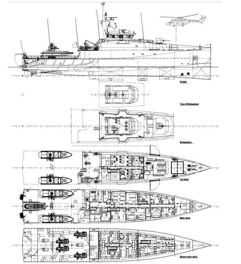 Die südafrikanische Marine bestellte drei Patrouillenschiffe bei der Damen Group