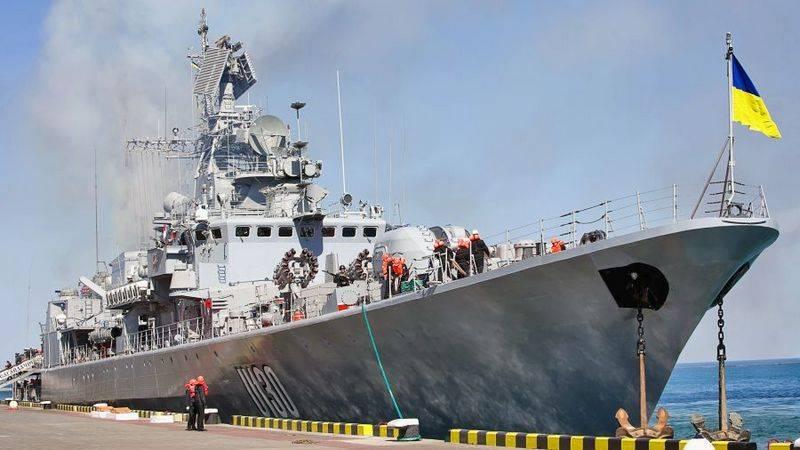 Das Flaggschiff der ukrainischen Flotte litt unter antirussischen Sanktionen