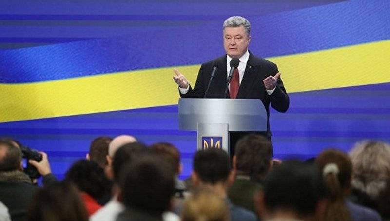 Ο Πόροσενκο χαρακτήρισε τον «πόλεμο» με τη Ρωσία μια βασική πρόκληση για την Ουκρανία
