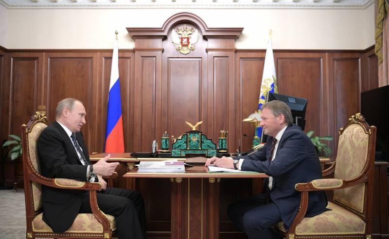 Титов передал главе государства список бизнесменов, желающих вернуться из Великобритании