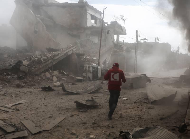 Сирийская оппозиция согласилась на режим прекращения огня в Восточной Гуте и Африне