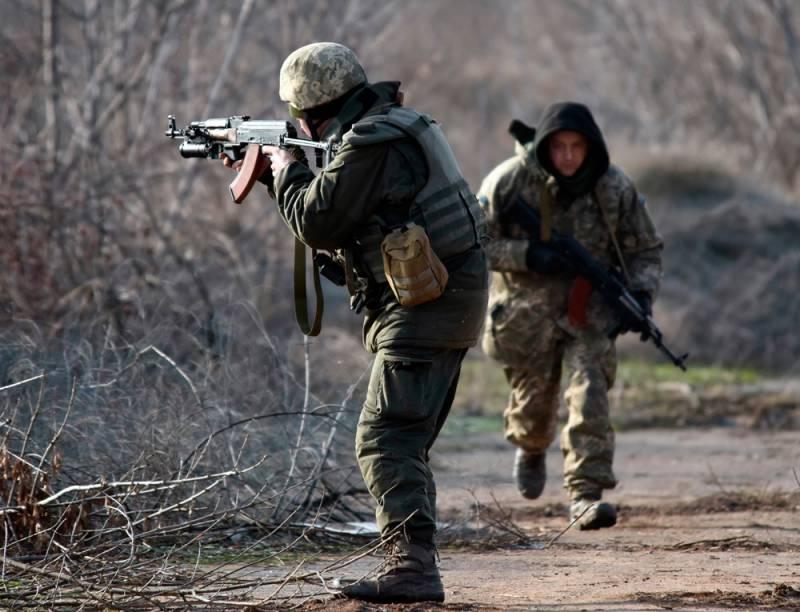 В Луганске рассказали о гибели украинских силовиков на линии соприкосновения