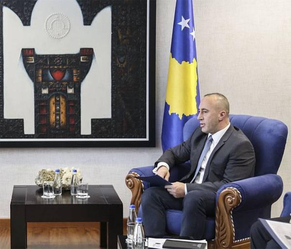 """""""Primer Ministro"""" de Kosovo Haradinai: buscaré el reconocimiento de la independencia de Kosovo de Belgrado"""