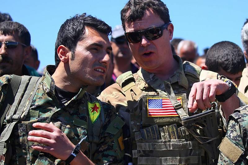 NYT: сирийские курды не хотят воевать с ИГ