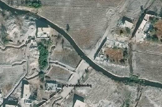 """In den Kanälen ertrinken """"Brücken"""" -Panzer der syrischen Armee"""