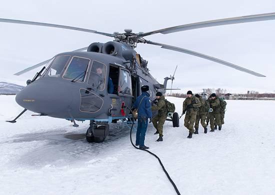"""In Kamchatka, durante l'esercizio, un gruppo di sabotatori è stato """"distrutto"""""""