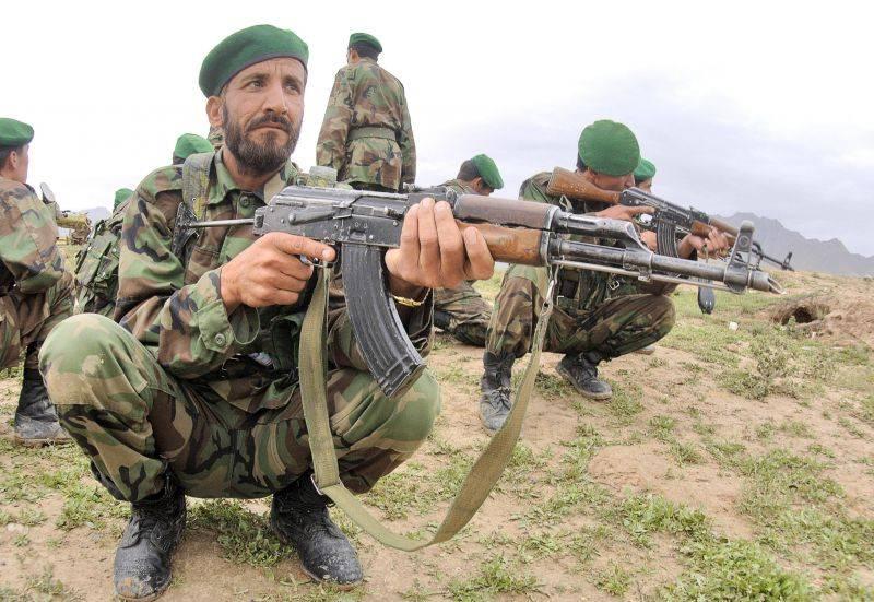 "Afghan general called ""betrayal"" US plans to replace Kalashnikovs"