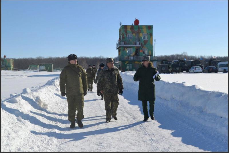 Военная делегация из Узбекистана изучила  опыт подготовки российских миротворцев в Самаре