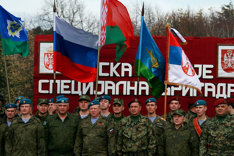 "Joint Russian-Belarusian-Serbian exercises ""Slavic Brotherhood-2018"" will be held in Novorossiysk"