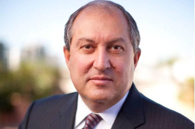 Sargsyan ersetzte Sargsyan als Präsident von Armenien