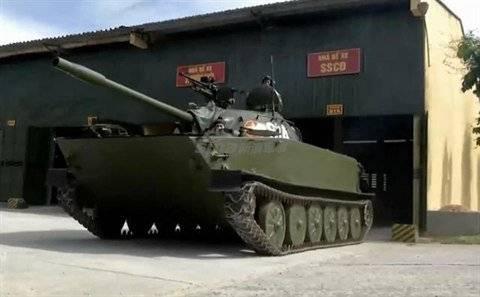 Танк Тип 63, заставший войну с США, по-прежнему служит во вьетнамской армии
