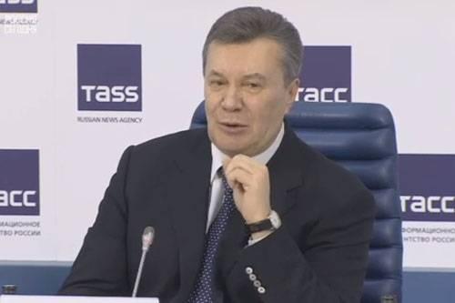Viktor Yanukoviç, Vladimir Putin'e nasıl itirazda bulunduğunu anlattı