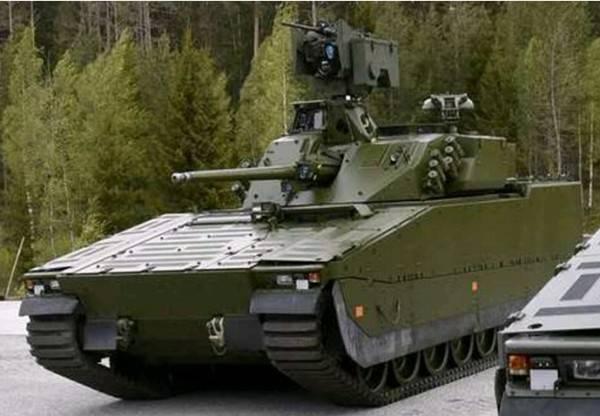 Norveç Ordusunun yeni komuta ve personel aracı CV90 STRILED