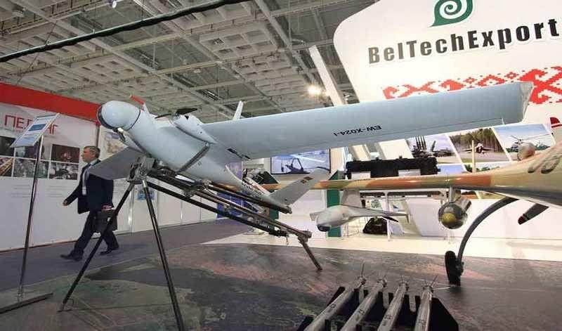 """Belarus está desenvolvendo um novo UAV """"Yastreb"""""""