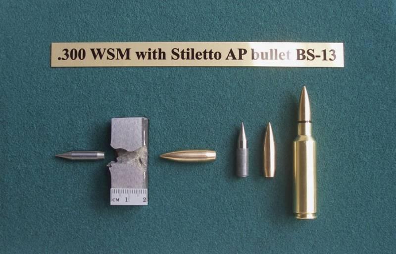 Stiletto demonstriert die Wirksamkeit seiner Panzerungspatronen.