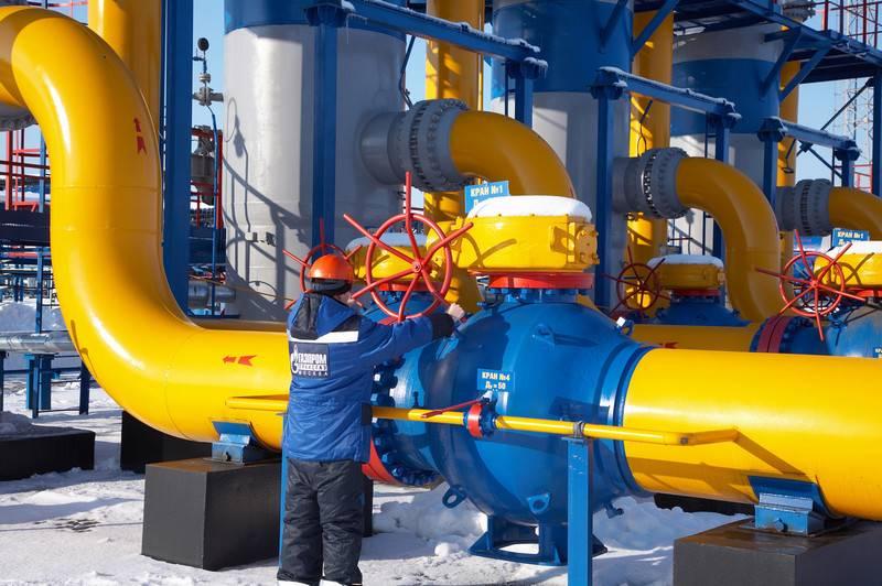 ガスプロムはナフトガズとの契約終了手続きを開始