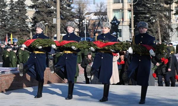 75 ° anniversario della liberazione di Rzhev