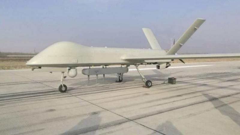 China actualizó UAV Cai Hong 4