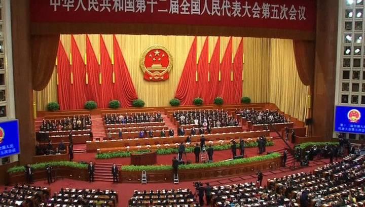 Членам ВСНП представят проект увековечения СиЦзиньпина вКонституции Китая