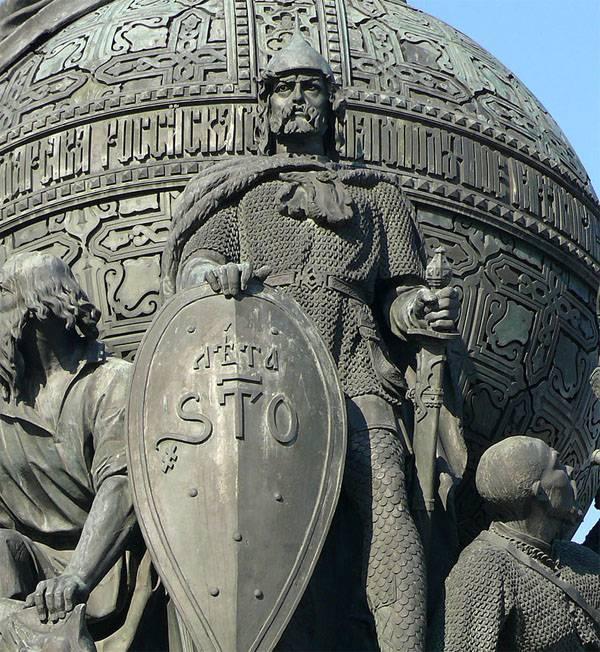 """Rurik ve """"Eski Rus tarihi"""" etrafındaki """"savaşlar"""" hakkında Polonyalı materyal"""