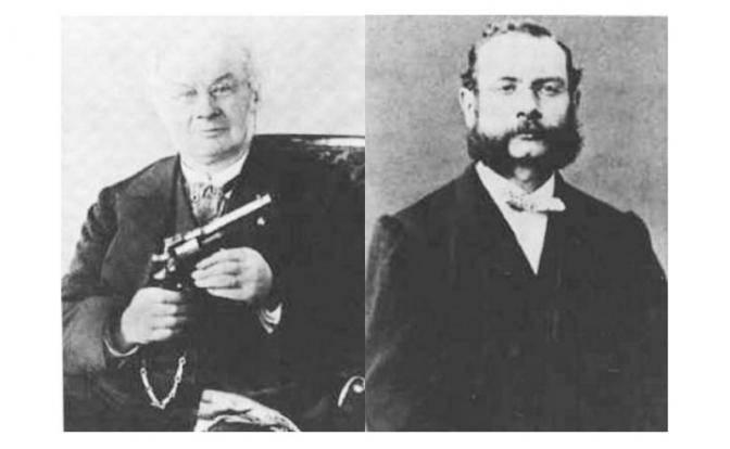 Revolver der Brüder Nagant: Emile und Leon