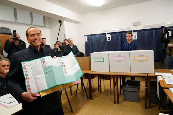 Берлускони возвращается в игру. Промежуточные итоги выборов в Италии