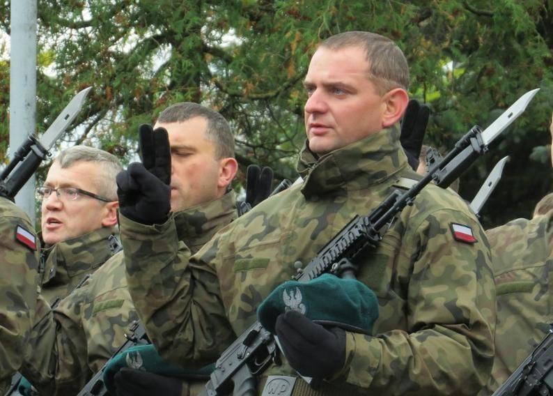 Territoriale Verteidigungstruppen - die große Hoffnung der polnischen Behörden