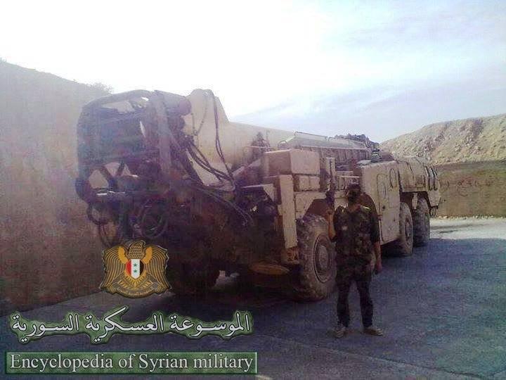 Scud 미사일 시스템의 훈련은 시리아에서 수행되었다.